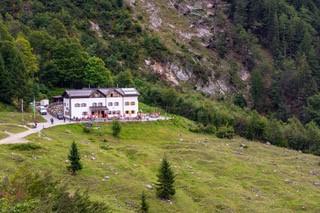 Gaudeamushütte, aus der Ferne